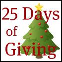 25 Days button