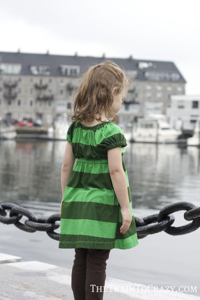 Green dress 4