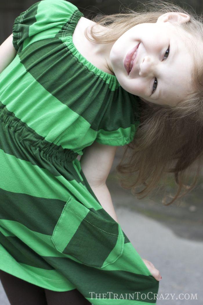 Green dress 2