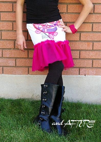 Tshirt skirt 4
