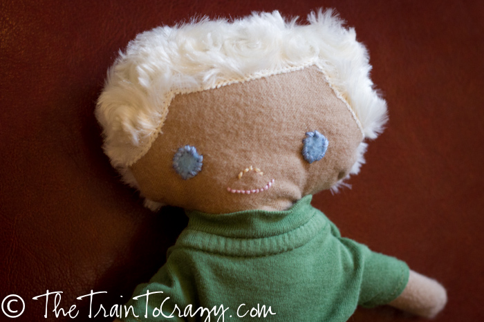 Handmade boy doll-4578