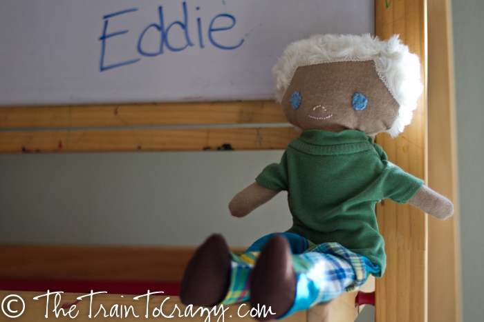 Handmade boy doll-4593