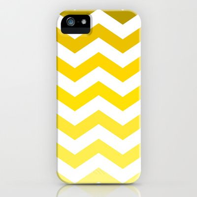 Chevron phone yellow