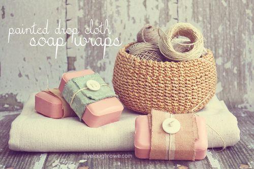 Painted-Drop-Cloth-Soap-Wraps