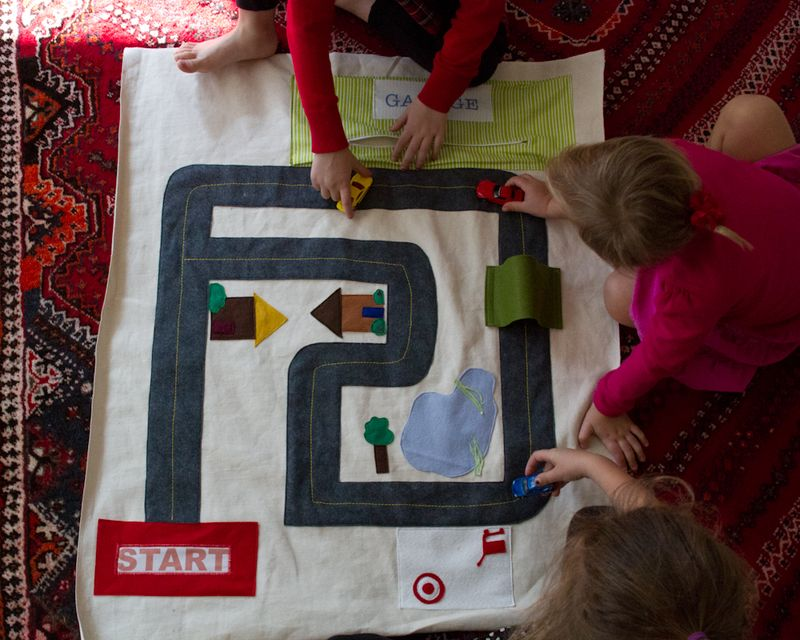 toy car play mat