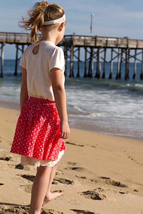 Boardwalk-skirt pattern