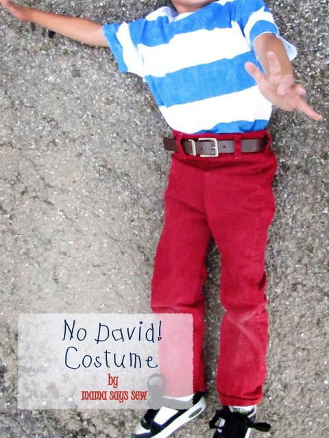 No David costume