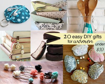 20 easy DIY gifts for women for under $10