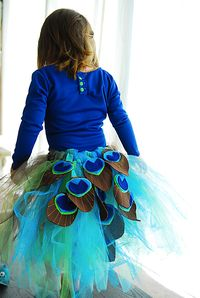 Peacock Tutu Tutorial
