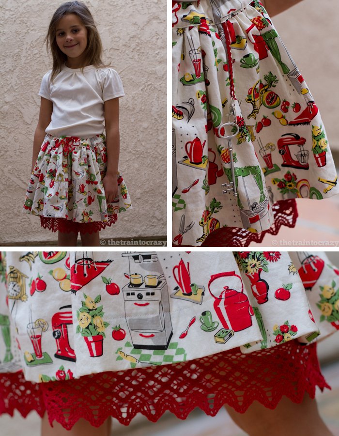 Kitchen-skirt