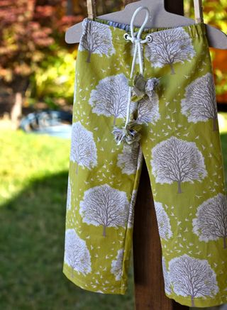 drawstring pajama pants tutorial