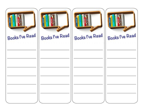 Bookmarks free printable