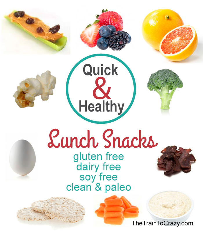 Quick & Healthy lunch box snacks #glutenfree #soyfree #dairyfree #paleo #clean #celiacdisease