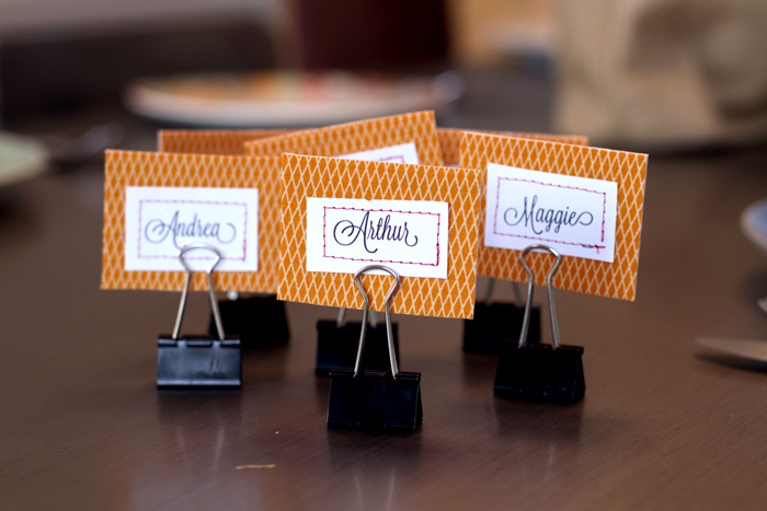 Table name tags (12 of 13)