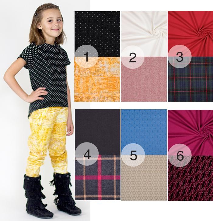 Choosing great fabrics for girls