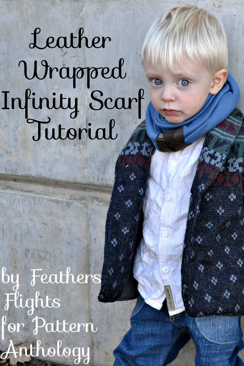 Diy-leather-wrapped-infinity-scarf-title