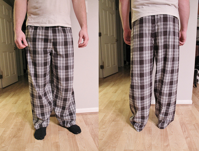 sewing for men: after-dinner pants