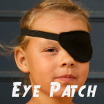 150 square eye patch