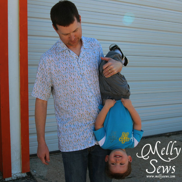 Men's Shirt by Melly Sews