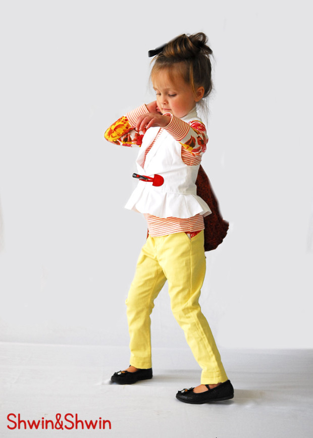 Adorable outfit by Shwin & Shwin!! Super cute!