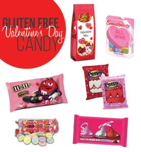 Gluten Free Valentine's Day Candy options