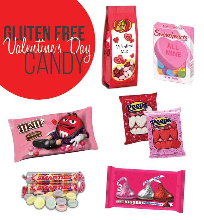 Gluten Free Valentine's Day Candy options